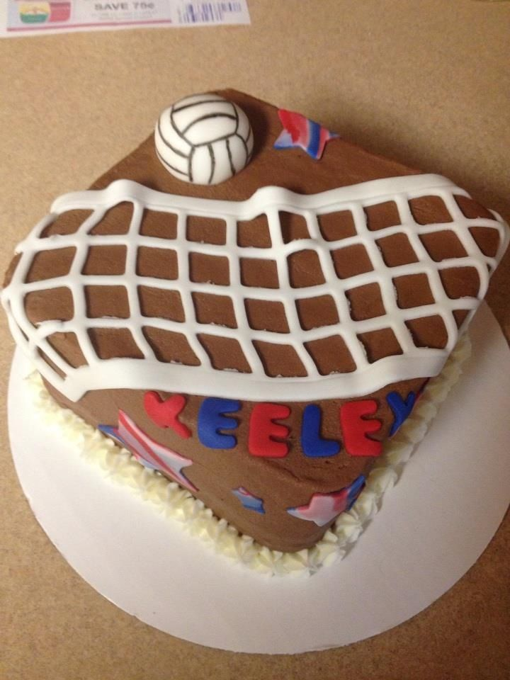 Volleyball Cake By Cuppiecakes Cuppiecakes Creations