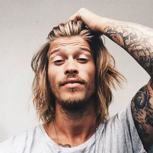 How To Choose A Good Hairstyle For Guys : Best 25 surfer hair ideas on pinterest messy medium