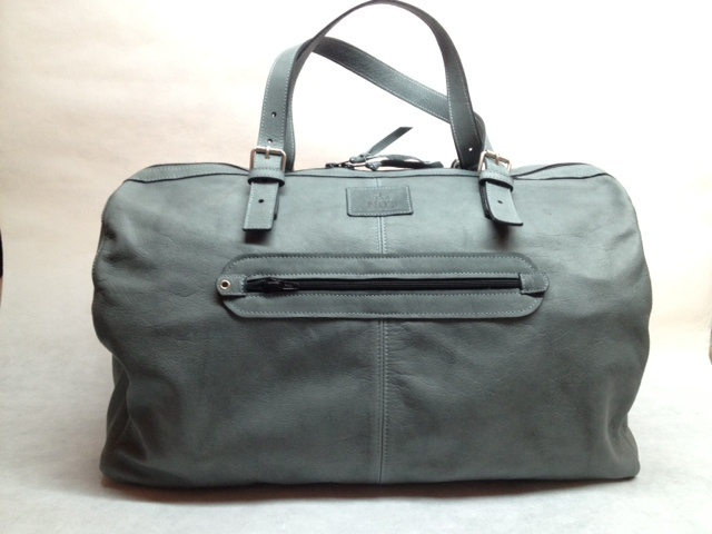 Bolsa de viaje 24HRS de piel,Handmade by Txema