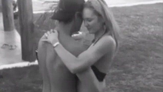 Victoria's Secret model Candice Swanepoel dances with Hermann Nicoli in cute video