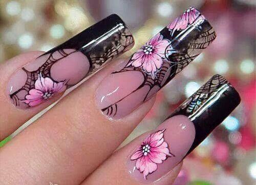 Akril virág