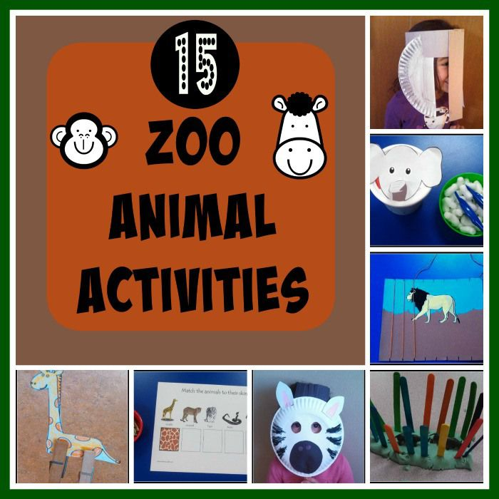 Preschool Wild Animals on Best Noah 39 S Ark Theme Images On Pinterest