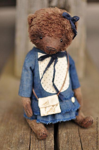 Мишки Тедди ручной работы. Мишка.......... Теребенина Евгения. Ярмарка Мастеров. Мишка ручной работы, мишка девочка, опилки древесные