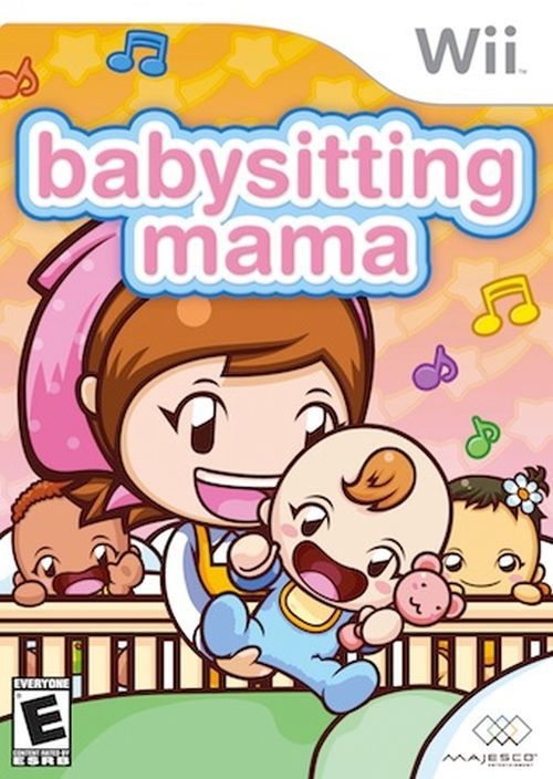 Babysitting Mama (Nintendo Wii, 2010) Complete With Doll