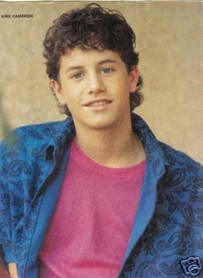 KIRK CAMERON FACT: Kirk Cameron portrayed Dexter Riley in the 1995 TV movie The Computer Wore Tennis Shoes.