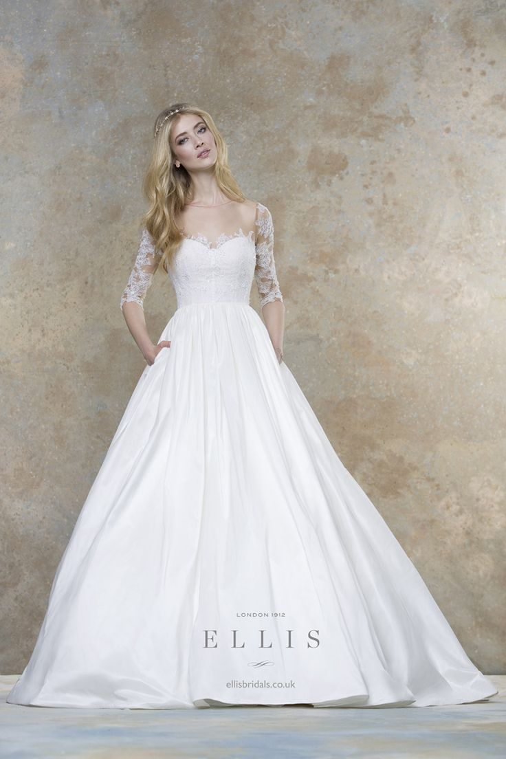2016 Wedding Dress from Ellis Bridals Magnolia Bridal Collection itakeyou.co.uk #weddinggown #weddingdresses