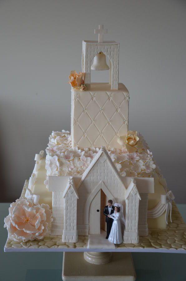 Wedding Cathedral Cake
