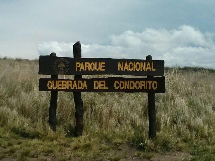 Parque Nacional Quebrada del Condorito en Córdoba