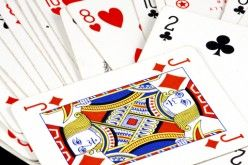 The two of clubs is a pick up card!  The next person misses a turn and must pick up two cards from the deck.