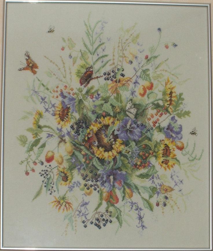 Bloemen boeket Janneke Brinkman