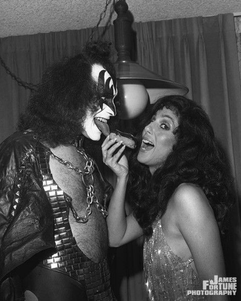 Gene Simmons. And Cher.