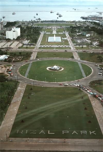 Rizal Park (circa 1960)