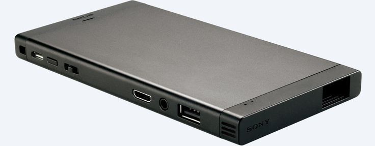 (ok-badspeakers) Images of MP-CL1 mobile projector from Sony
