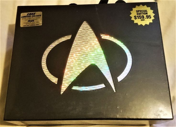 STAR TREK 1-7 Feature MOVIES CIC VHS IN FACTORY SEALED BOX SET VERYRARE