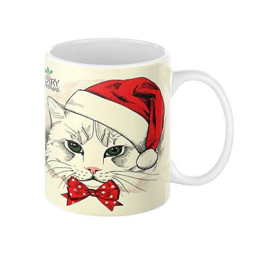 Coffee Mug - Christmas Cat