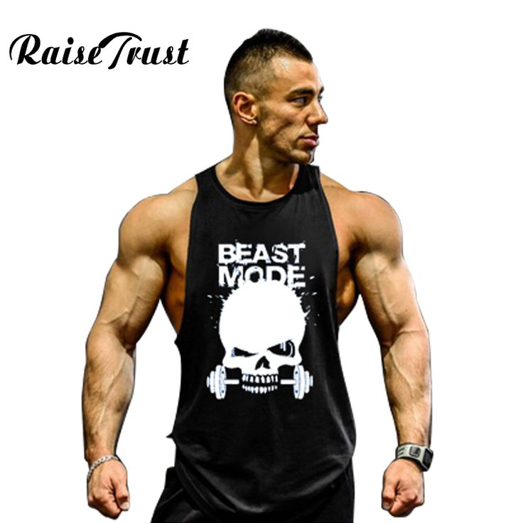 Sale Men s bodybuilding tank tops for Muscular sleeveless singlet and undershirt in 2017 summer big muscle. Click visit to check price
