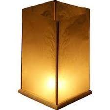 Drijvende houten lantaarns per 2 verpakt. Leuk om op het water te laten drijven of in het gangpad te zetten. Bron: www.candlebagplaza.nl