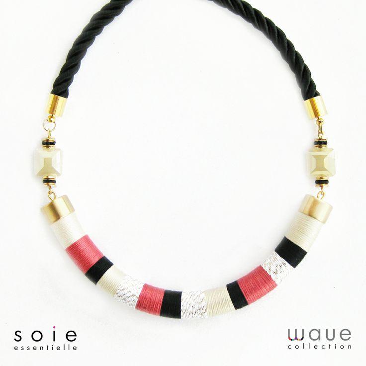 Cayenne elegant necklace by Soie