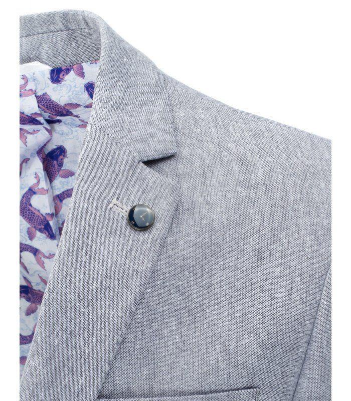 Pánske šedé elegantné sako