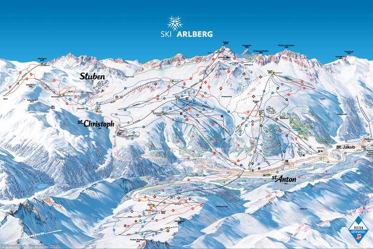 ❄ Updated #Sankt Anton Piste Map. #skiing ❄ ➽ See high resolution at http://www.skiferietips.dk/oestrig/st-anton-am-arlberg/pistekort