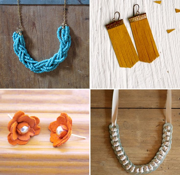 13 DIY Jewelry Projects That Donu0027t Look