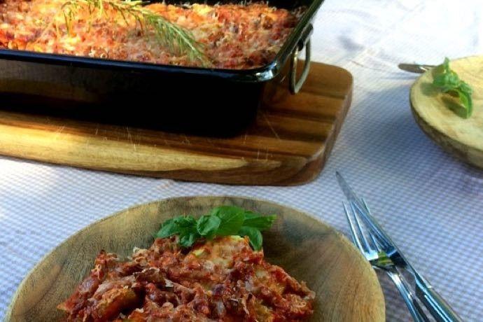 lasagne met witte kool