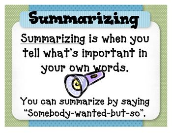7 reading comprehension strategy posters...free!