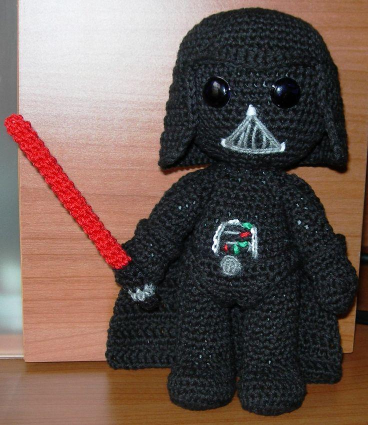 Amigurumi Snake Pattern Free : Darth Vader Amigurumis Coruna Pinterest Darth vader ...