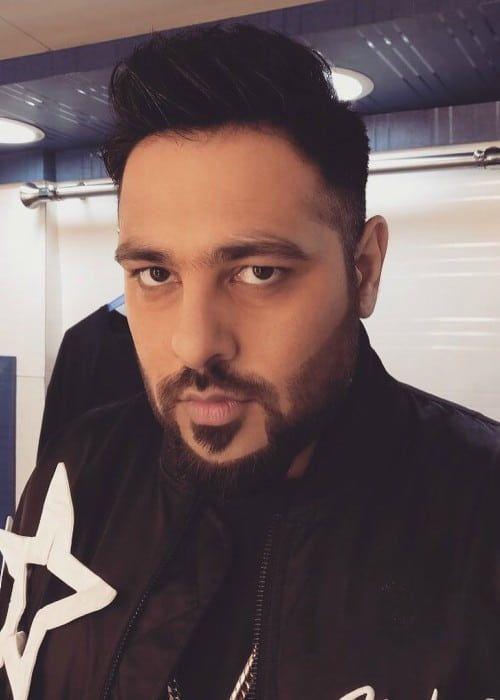 d213e0254386 Badshah in an Instagram selfie as seen in August 2017.