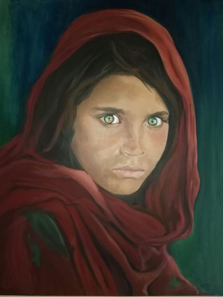 SHARBAT GULA pintura de Claudia Hermosilla 2016 Oleo  70 x 90