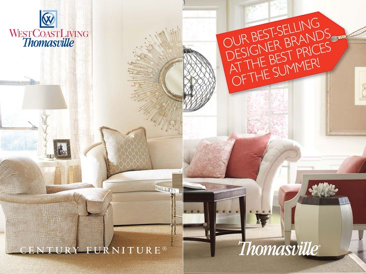 Summertime And The Living Is Easy. And A Huge Selection Of Thomasville And  Century Furniture · Home FurnishingsWest CoastSummertime