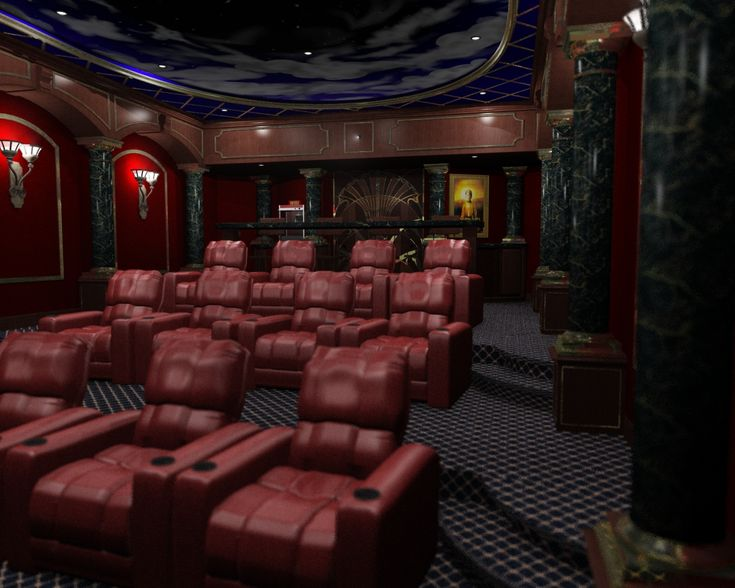 141 Best Home Theatre Designs Images On Pinterest | Cinema Room, Movie Rooms  And Movie Theater