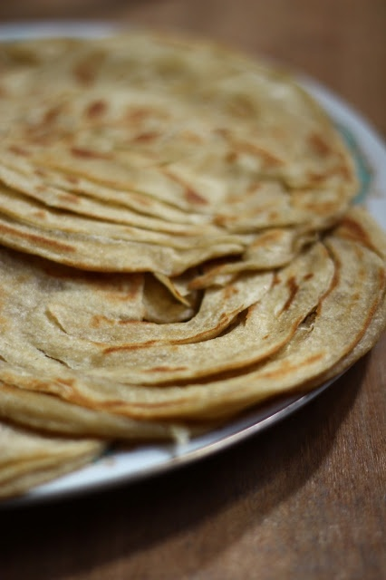 A Bit of This and A Bit of That: Kerala Parotta or Porotta