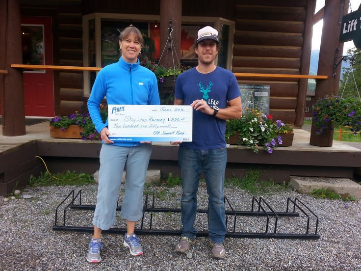 This summer the Fernie Alpine Resort community Summit Fund contributed to the Stag Leap Running Co.  A new organization in Fernie to build and develop and trail running community through events, clubs and races.