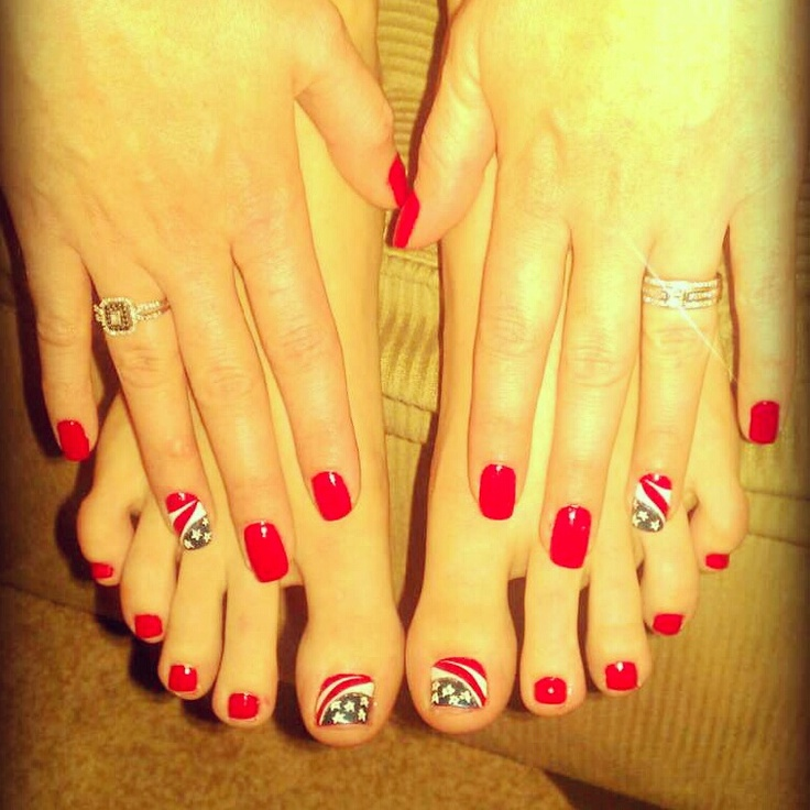 All about the red, white, and blue. Patriotic nail art on natural nails:) - Best 20+ Usa Nails Ideas On Pinterest American Nails, America