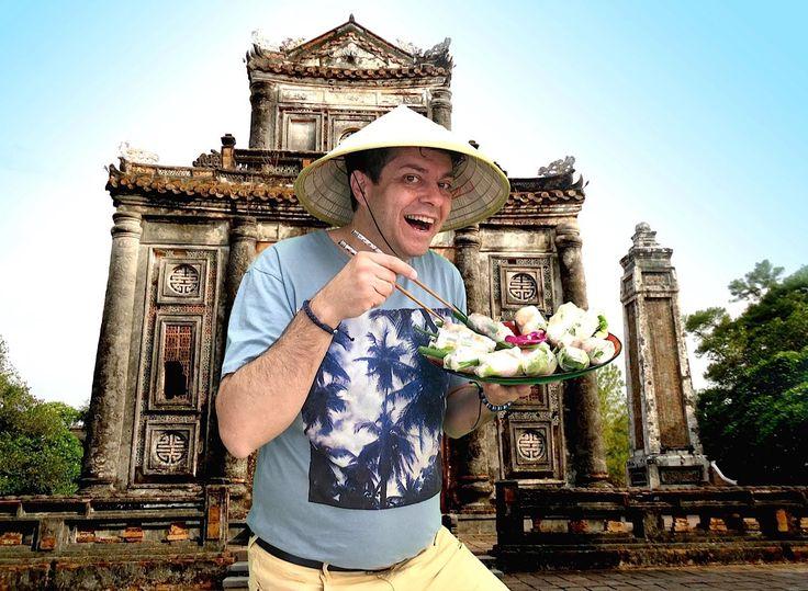 Nejlepší recept na Vietnamské jarní závitky (Gỏi cuốn), Vařte s Majklem