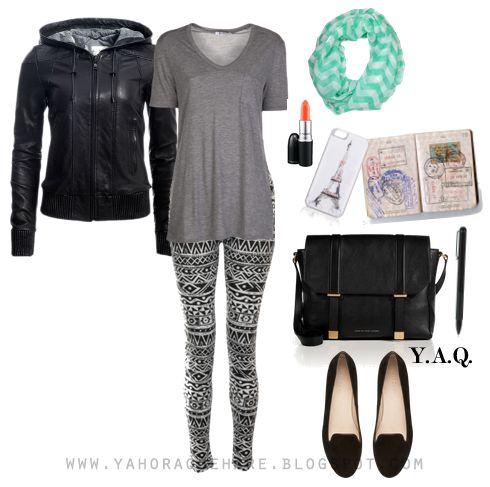 Y. A. Q. - Blog de moda, inspiración y tendencias: [Y ahora qué me pongo en] Un viaje en avión