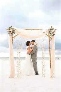 Best 20+ Beach wedding arches ideas on Pinterest | Beach wedding arbors, Wedding alter flowers ...