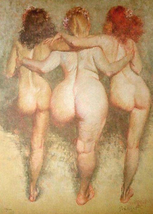 Zoe Mozert  'The Three Graces'