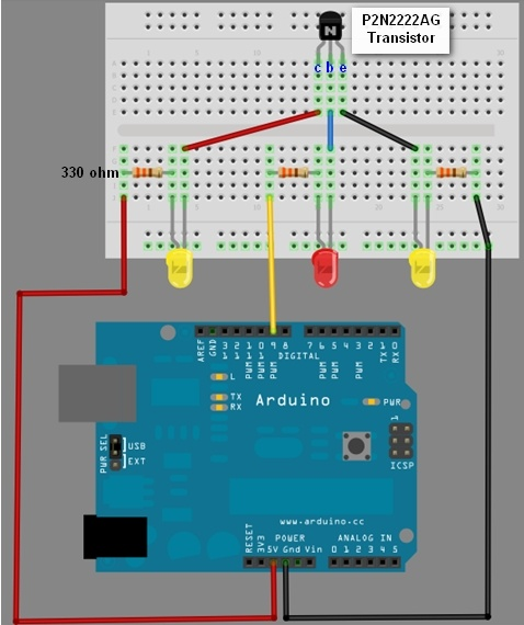 Best ideas about arduino transistor on pinterest