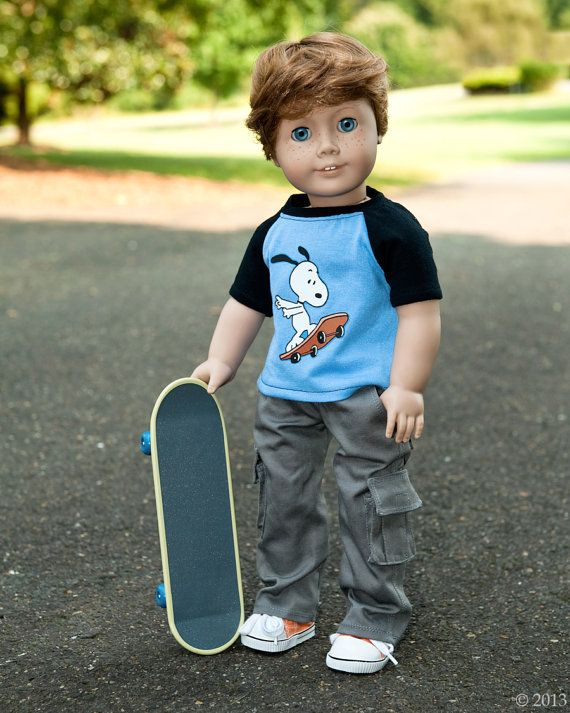 American Girl Boy Doll Clothes  Cargo Pant and by Minipparel, $28.00