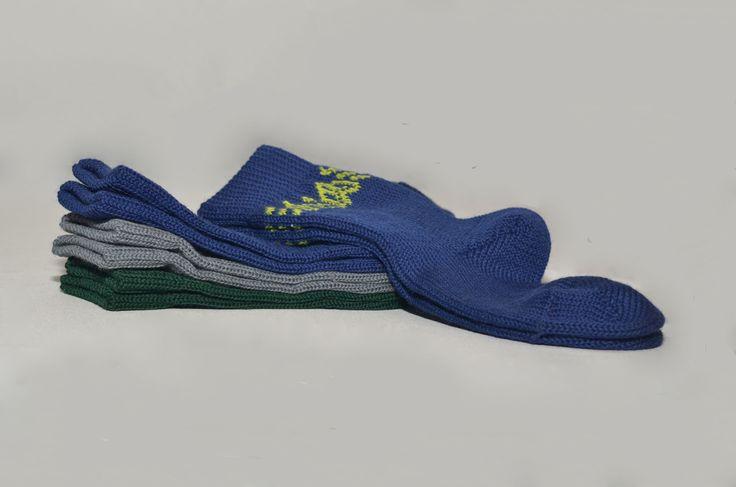 Носки для детей из 100% шерсти мериноса