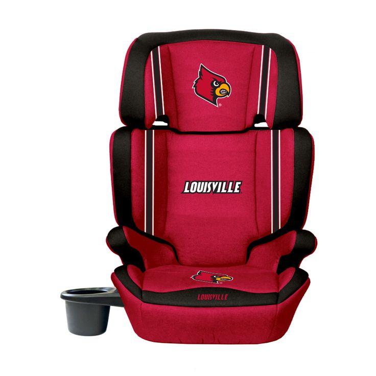 Louisville Cardinals Convertible High Back Booster Car Seat