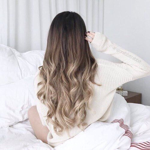 Imagem de hair, ombre, and hairstyle