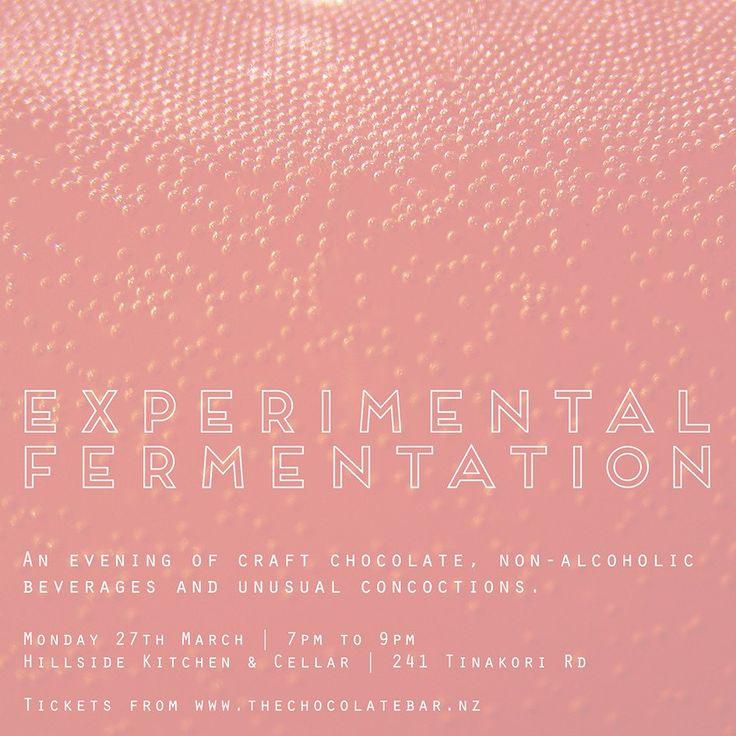 Experimental Fermentation - Monday 27th March