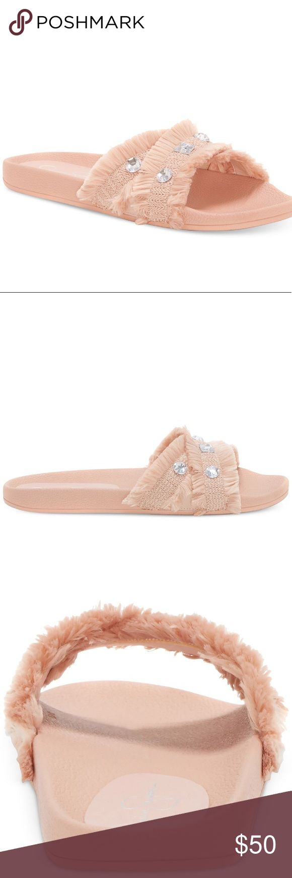Jessica Simpson Nude Playah Slippers *product details is in one of the photos  *no flaws  make me an offer! or click bundle and i can send you at a personal offer!  any questions? be sure to comment below! Jessica Simpson Shoes Slippers