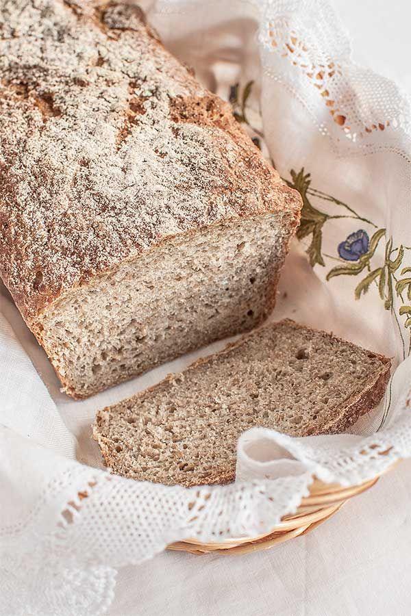Pan de centeno básico