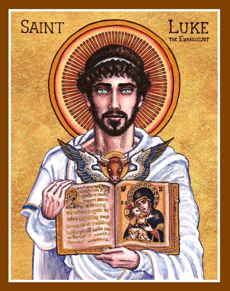 St. Luke the Evangelist by Theophilia