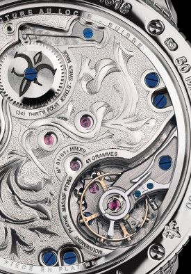 Indietro di L'Aigle Reale Manufactura Watch Julien Coudray 1518