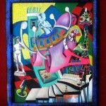 angelo savoia - la donna blu (maternità)